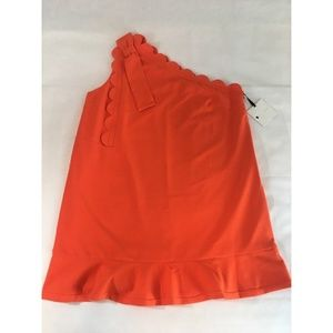 Victoria Beckham Target Orange Plus Size Dress